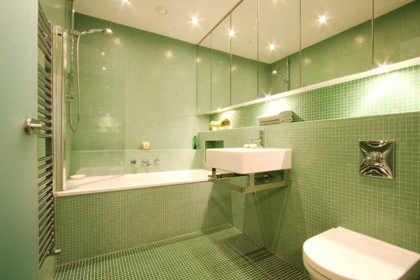 bathroom with no natural light study glass mosaic is for small bathrooms 22599